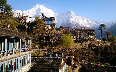 Непал Пун хилл трек Ghorepani Poon hill trek