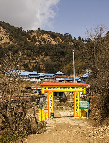 Пун хилл трек Ghorepani Poon hill trek