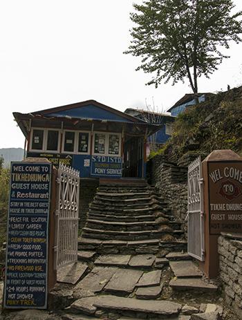 самостоятельно организовать трек в Непале