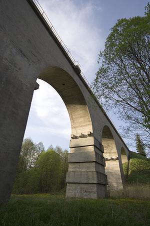 Мост в деревне Токаревка