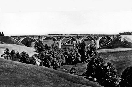 Staatshausen Viadukt 1930-1940