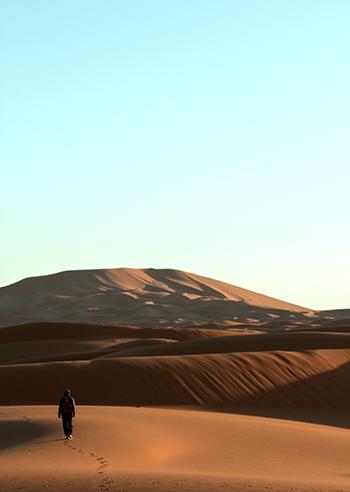 Встретить рассвет в Сахаре