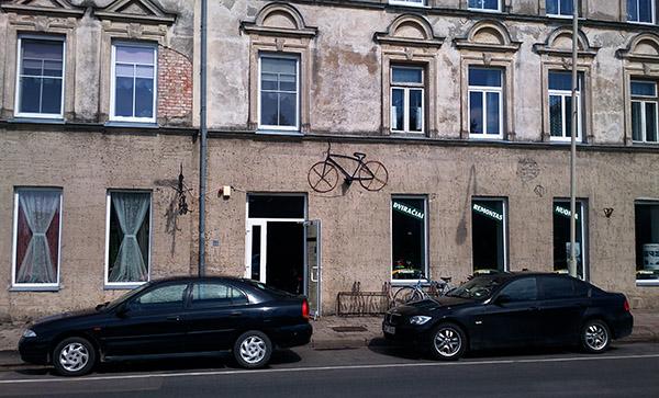 на велосипеде по Литве