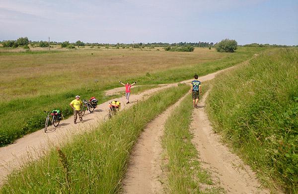 велопоход по северу калининградской области